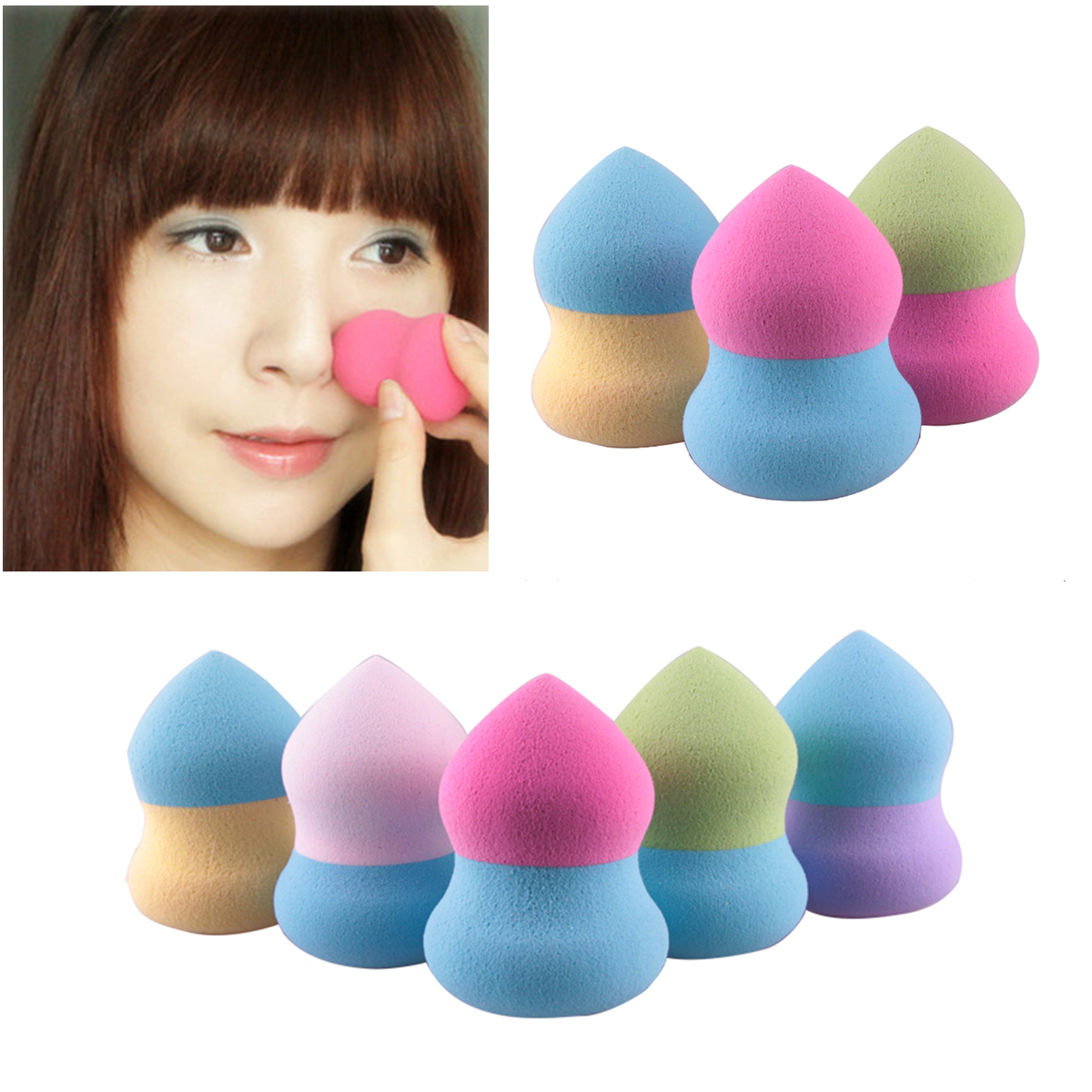 how to use beauty blender with powder