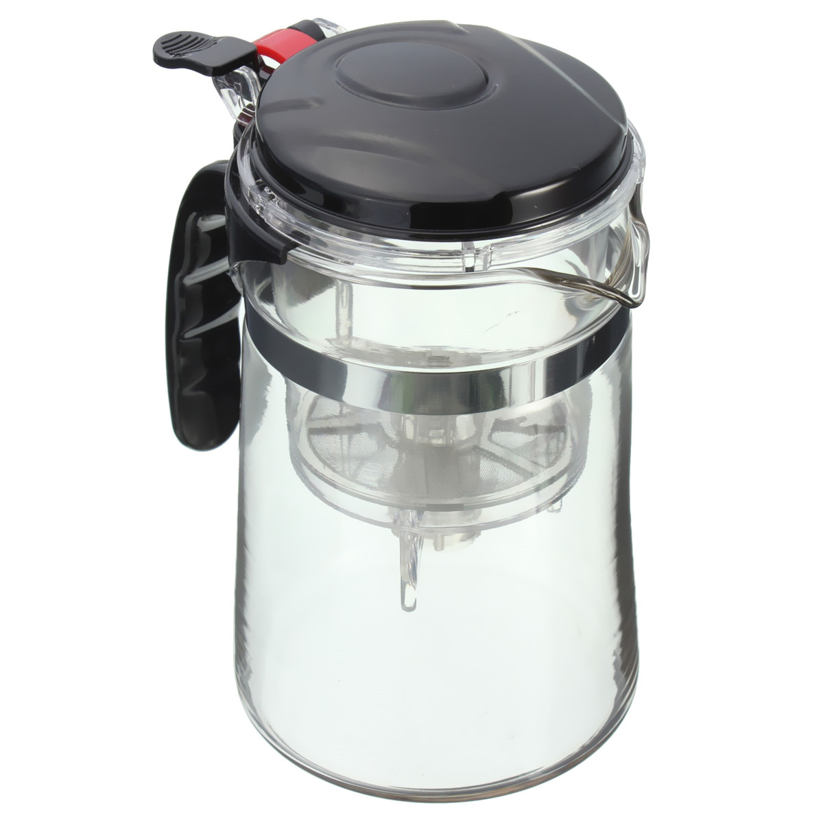 Glass Teapot Coffee Maker : Clear Glass Tea Coffee Maker Mug Pot With Filter Infuser Straight 500ml 17Oz Lazada PH