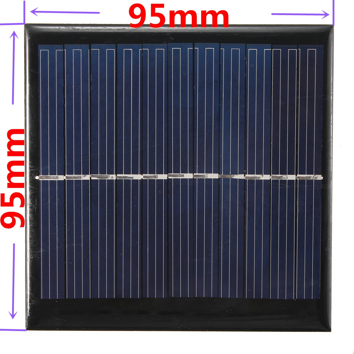 1w 5 5v panneau solaire petit module cellule pv pour les. Black Bedroom Furniture Sets. Home Design Ideas