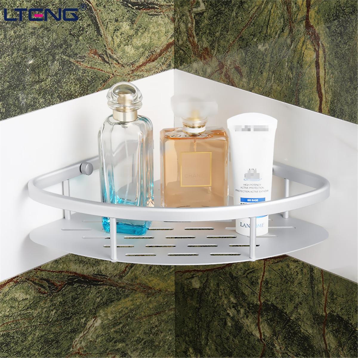 Unique Bathroom Shelf 4Tier Multifunctional Storage Rack Shelving Unit