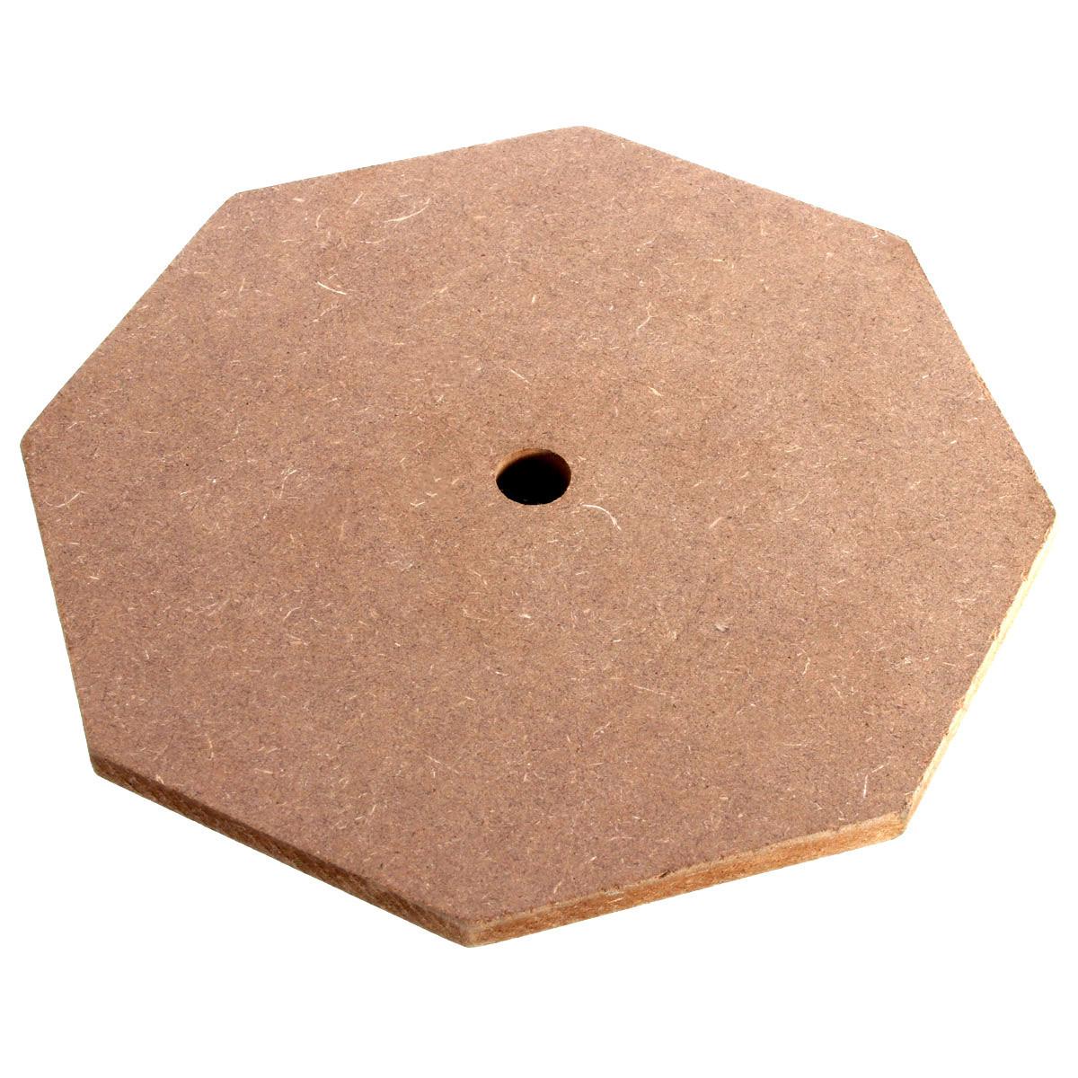 "6"" Soft Black Dumb Drum Pad Exercise Mat Blow Plate"