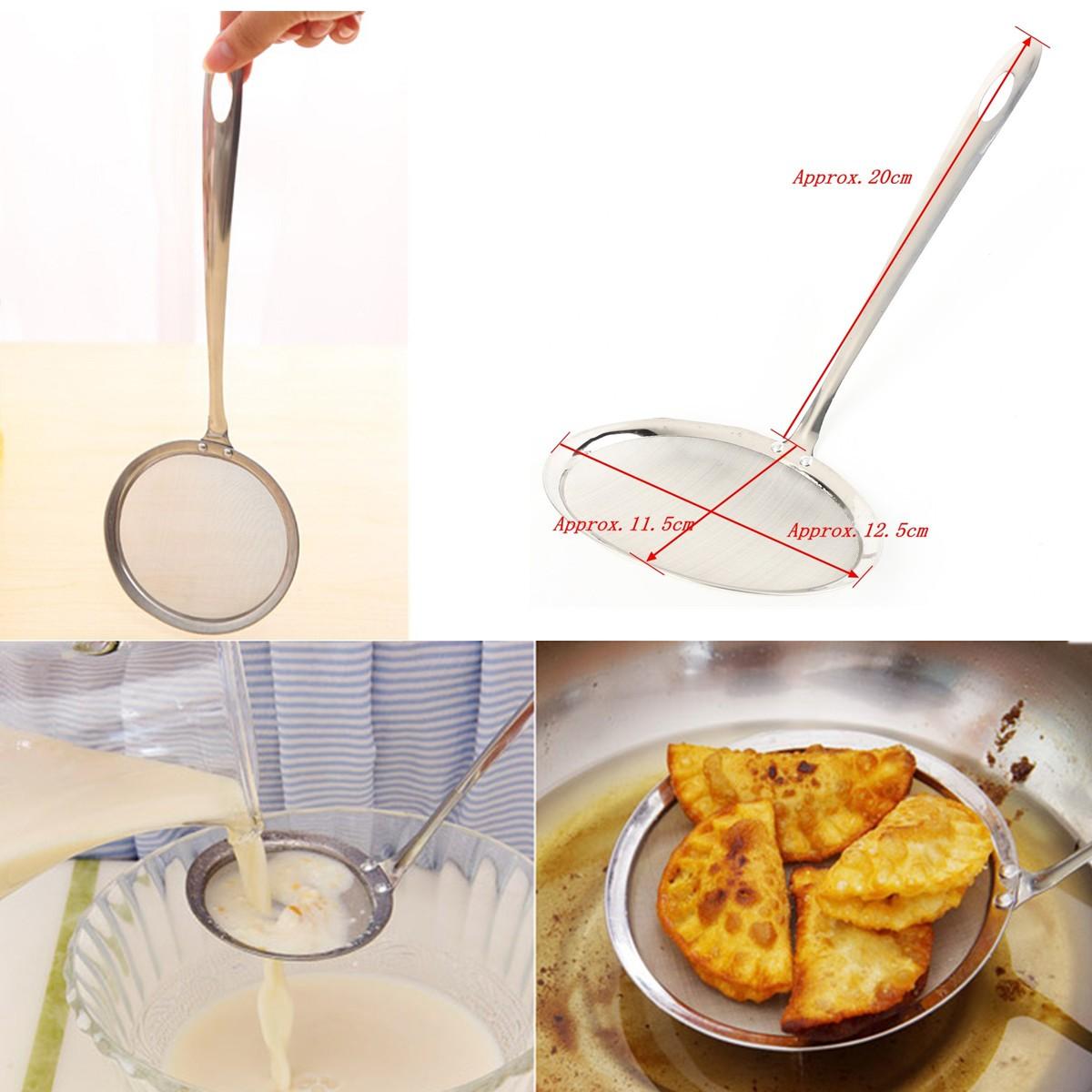 Cuillère De Filtre à Huile Soupe Égoutter Nouilles Pâte Passoire Léger