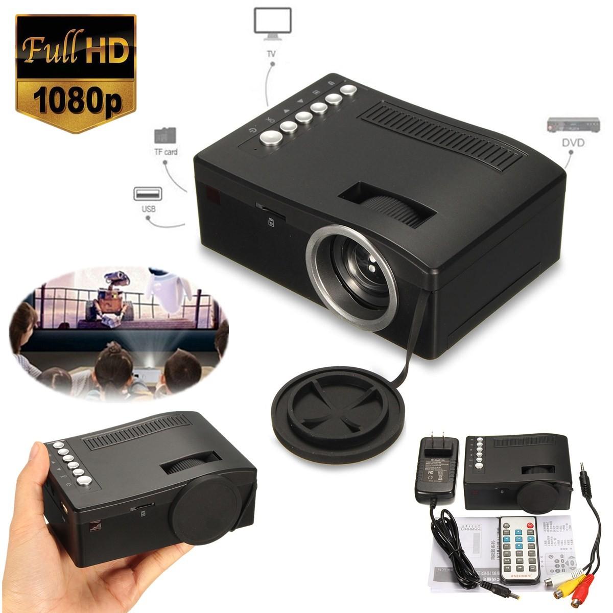 Vidéo Projecteur HD LED Mini WiFi 1080P UC18 Projecteur Portable