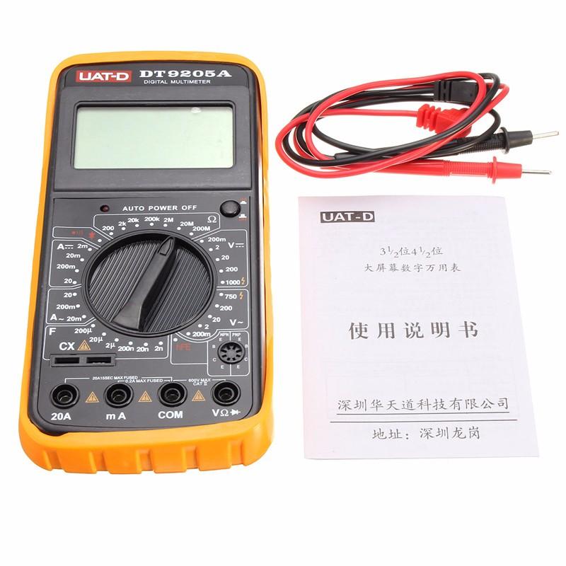Build A Digital Ohmmeter : Dt a digital multimeter voltmeter ohmmeter ac dc