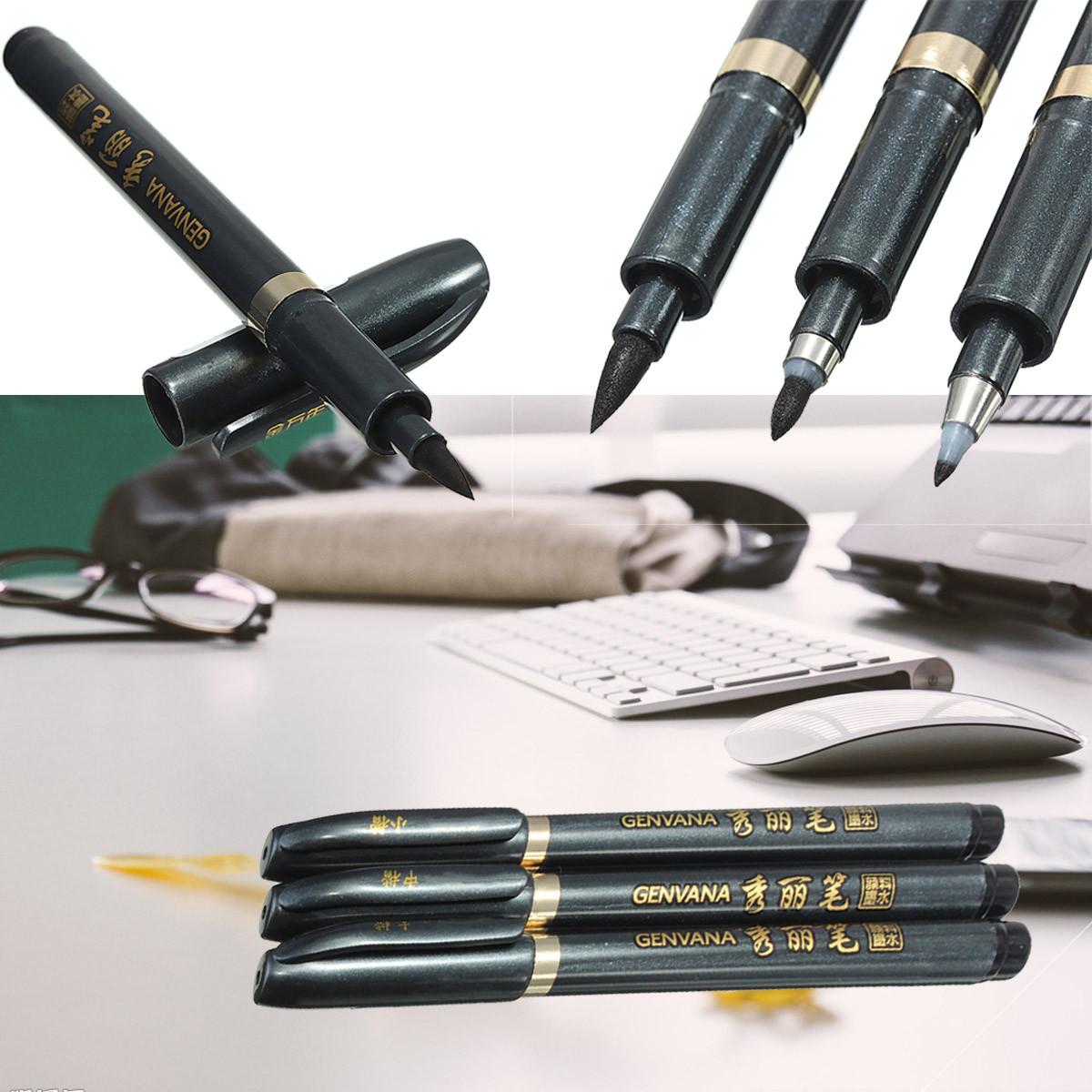3pcs Set Chinese Japanese Calligraphy Writing Art Script
