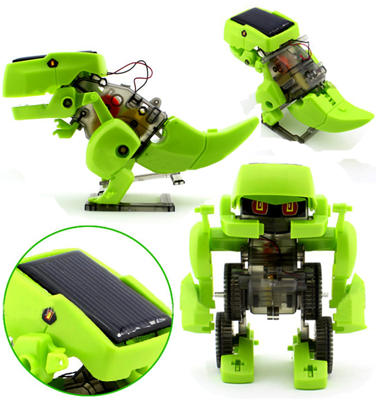 DIY 4 IN 1 Educational Learning Electronic Power Dragon ...