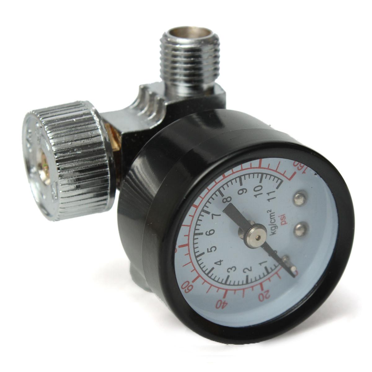 1 4 adjustable mini air pressure regulator dial gauge hvlp spray lazada ph. Black Bedroom Furniture Sets. Home Design Ideas