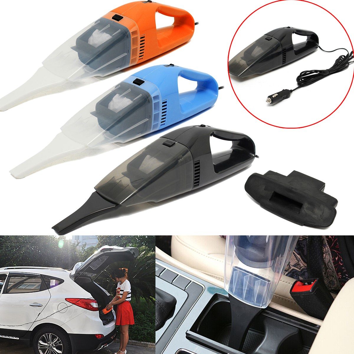 Paling Laku Portable Vacum Cleaner Mobil 12v 100w Vacuum Dirt Wet Mesin Penyedot Debu Dry High Power Car Adalah Alat Kebersihan Berupa Yang Sangat Tepat Penggunaannya Untuk Kendaraan Anda