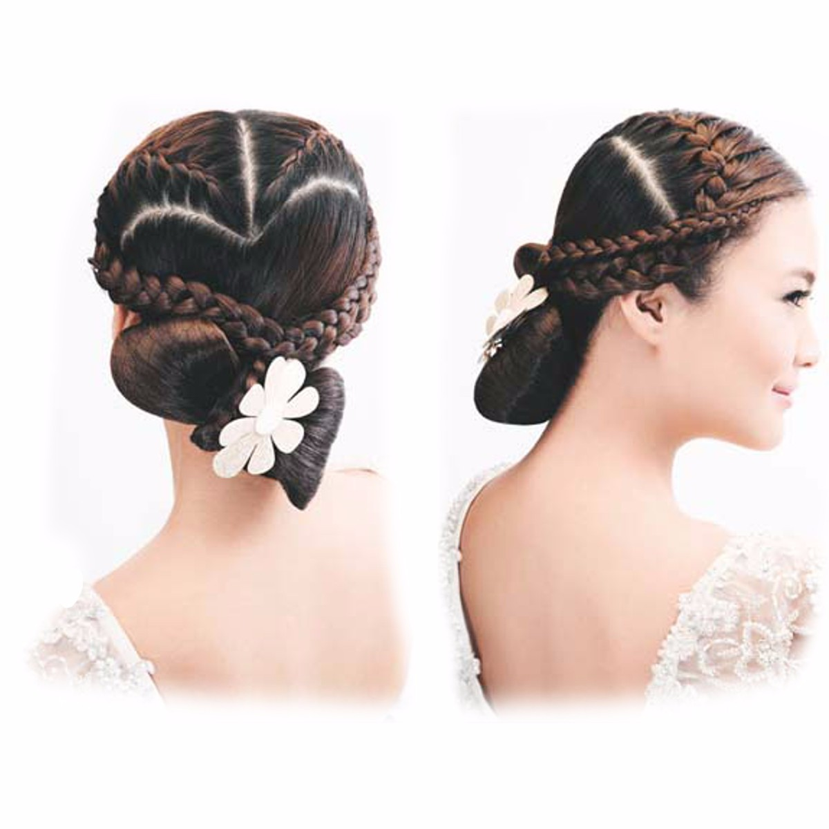 hair style for flower magic hair clip twist hair styling accessory bun maker 9146