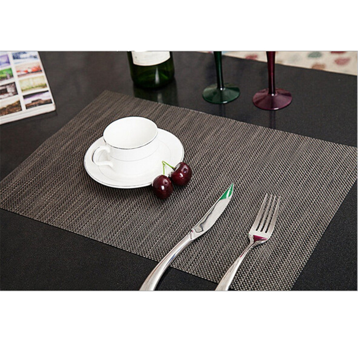 Sales Pvc Quick Drying Placemats Insulation Mats Coasters