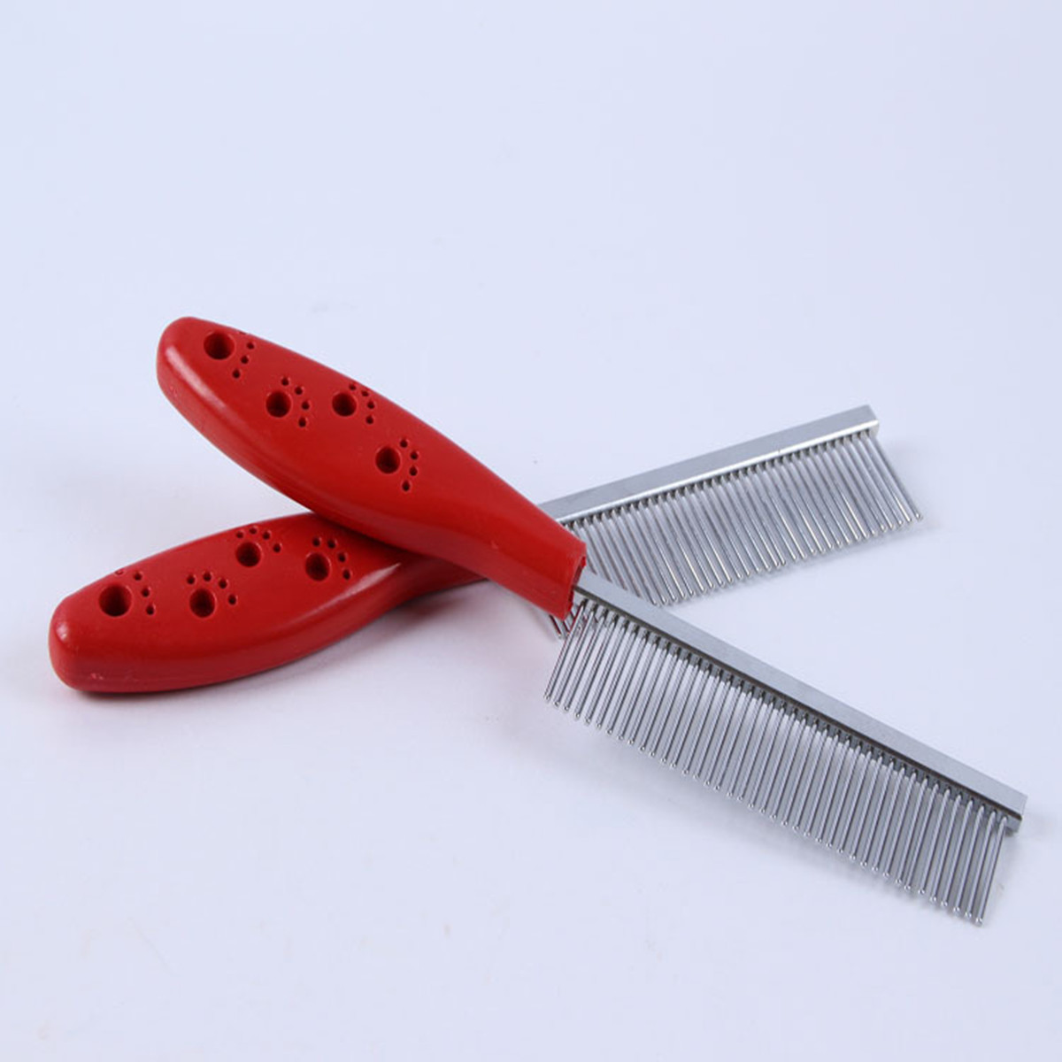 Stainless Steel Pet Cat Dog Puppy Flea Fur Hair Grooming ...