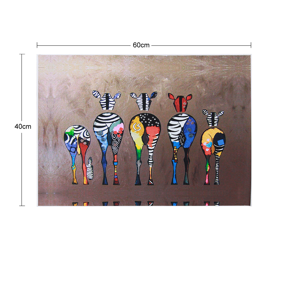 Hd Canvas Print Home Decor Wall Art Painting : Hd unframed canvas print zebra home decor wall art poster