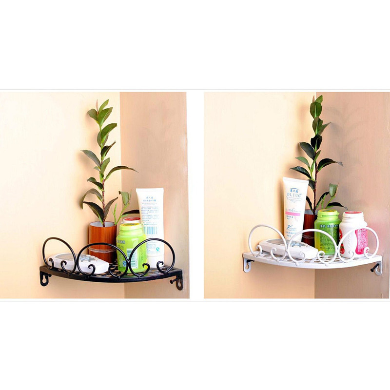 Bathroom corner accessories kitchen rack hanging pot for Bathroom accessories lazada