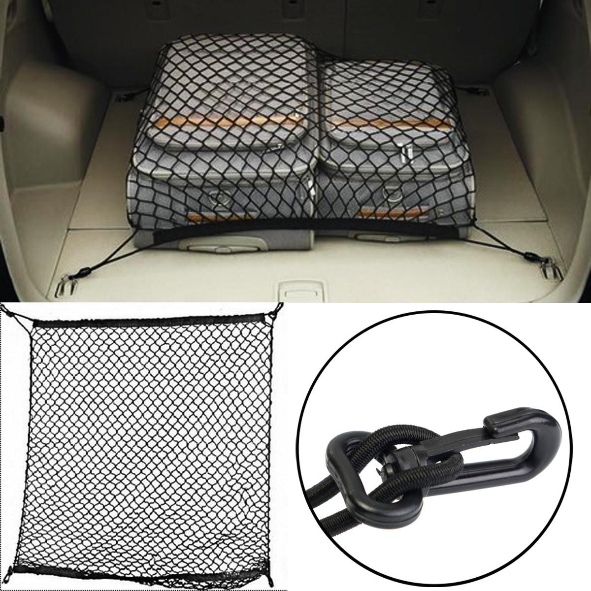 filet coffre arri re elastique bagage stockage rangement. Black Bedroom Furniture Sets. Home Design Ideas
