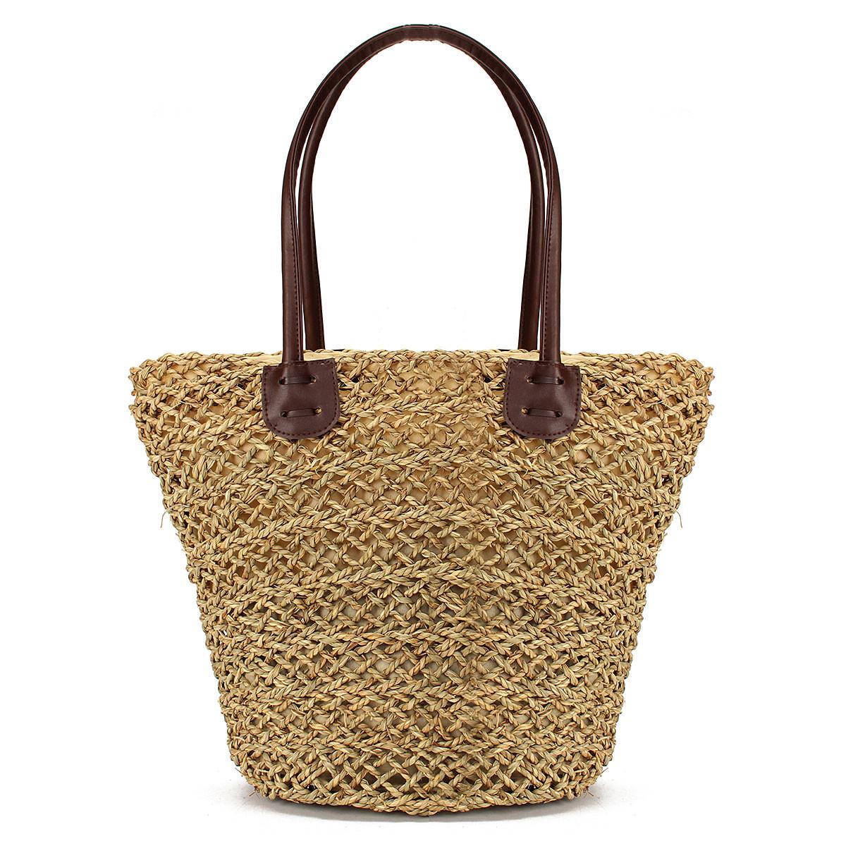 femme sac main epaule cabas paille tress shopping plage fourre tout achat vente femme sac. Black Bedroom Furniture Sets. Home Design Ideas
