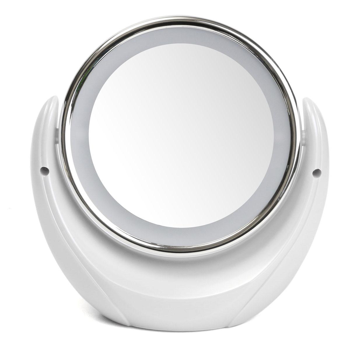 Desktop Double Sided Swivel Led Cosmetic Makeup Mirror