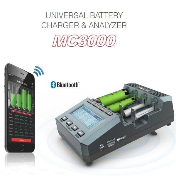 Умная электроника Многофункциональный весовой зарядное устройство SK-100083 SkyRC MC3000 (Фото 5)