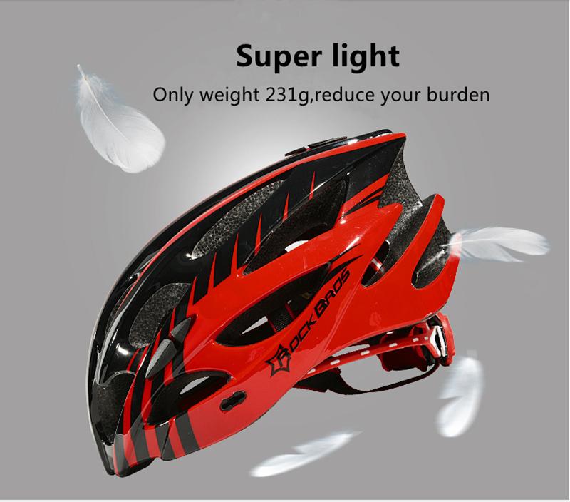 ROCKBROS Ultralight Integrally Molded Riding Helmet MTB Road Bicycle Unisex Riding Equipment