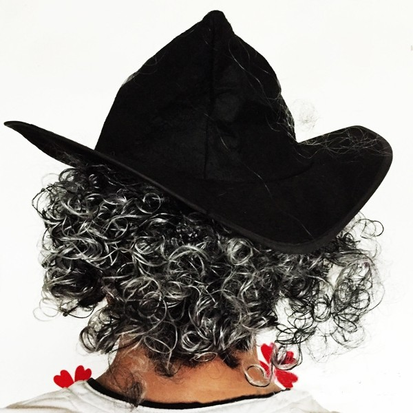 Imitation Mustache Curly Hair Wigs Latex Mask for Halloween Party Cosplay