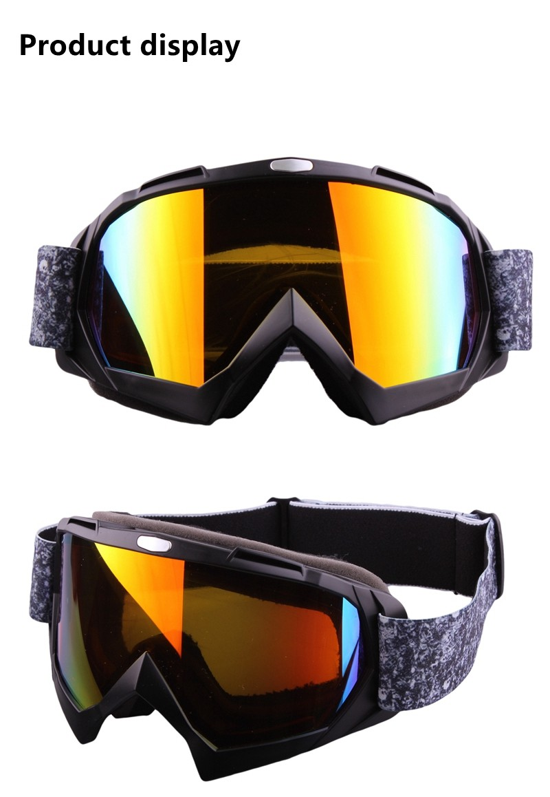 Outdoor Sports Goggles Glasses Fashion Antifog Ski Goggles