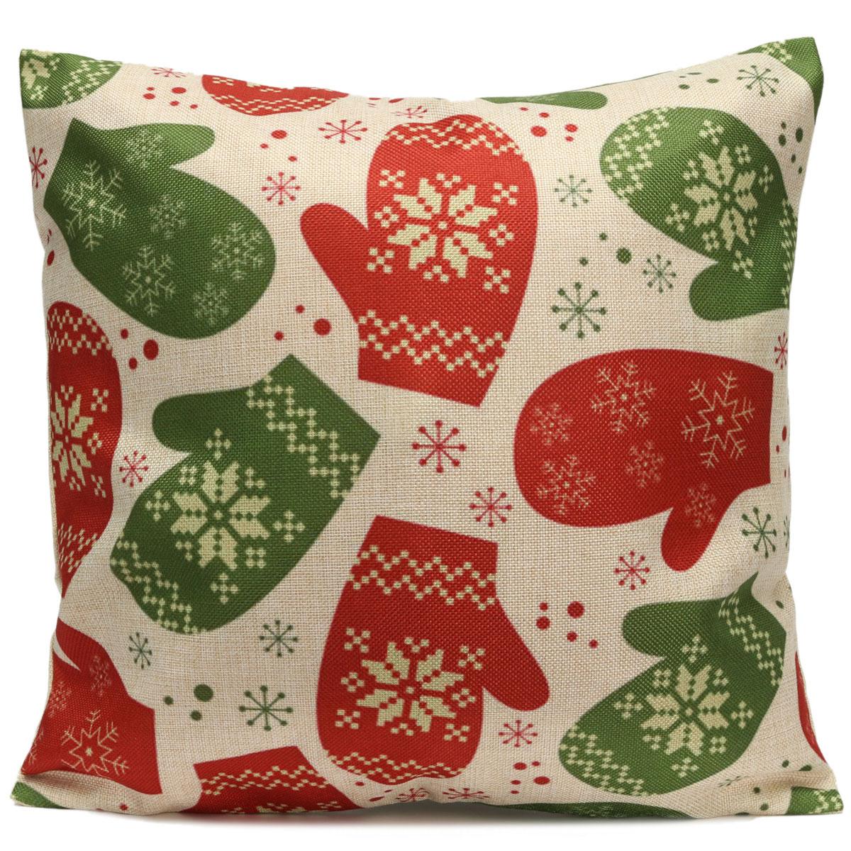Cotton Linen Vintage Pillow Case Cushion Cover Throw Car Christmas Home Decor Lazada Malaysia