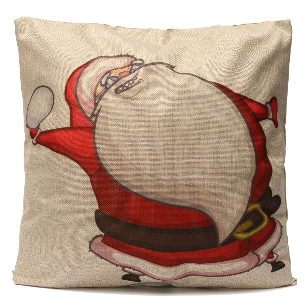 Christmas Decorative Pillow Cases : Christmas Cotton Linen Throw Pillow Case Xmas Cushion Cover Home Car Decorative #04 - Intl ...