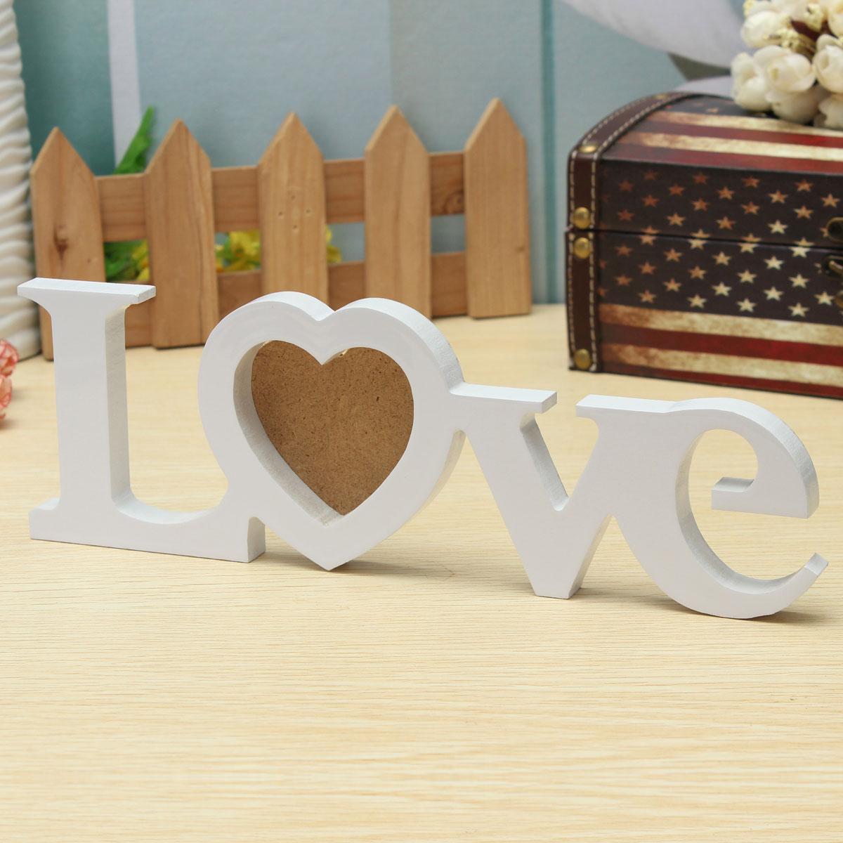... Frame DIY Wedding Gift Home Room Table Decor White Lazada Malaysia