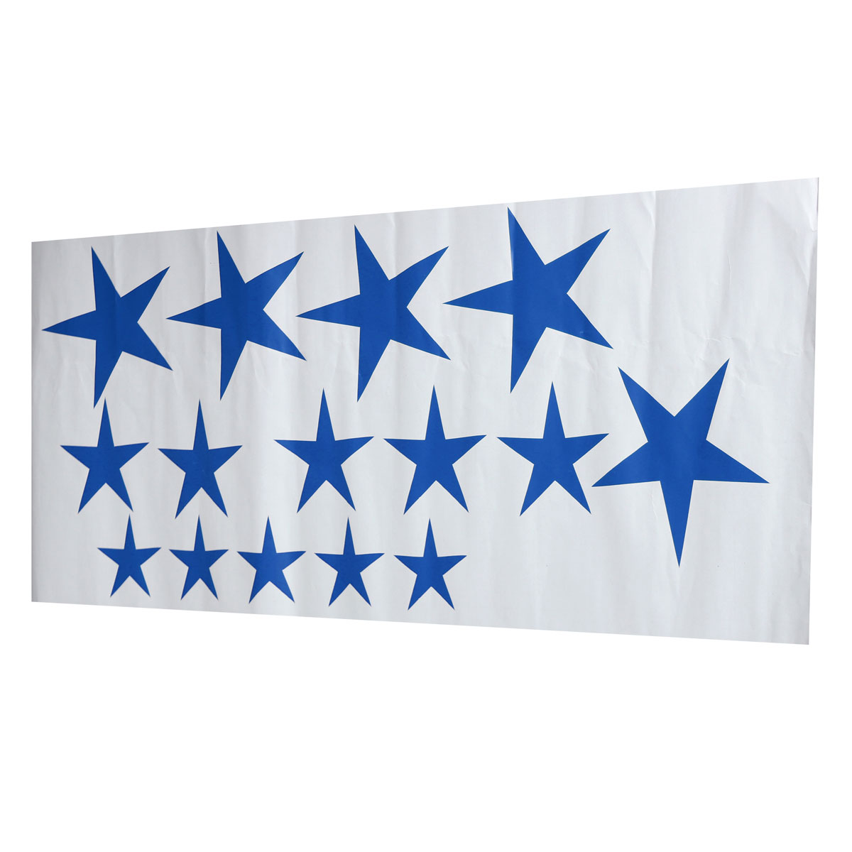 Blue Star Wall Decor : Removable pcs stars wall stickers art vinyl decals for