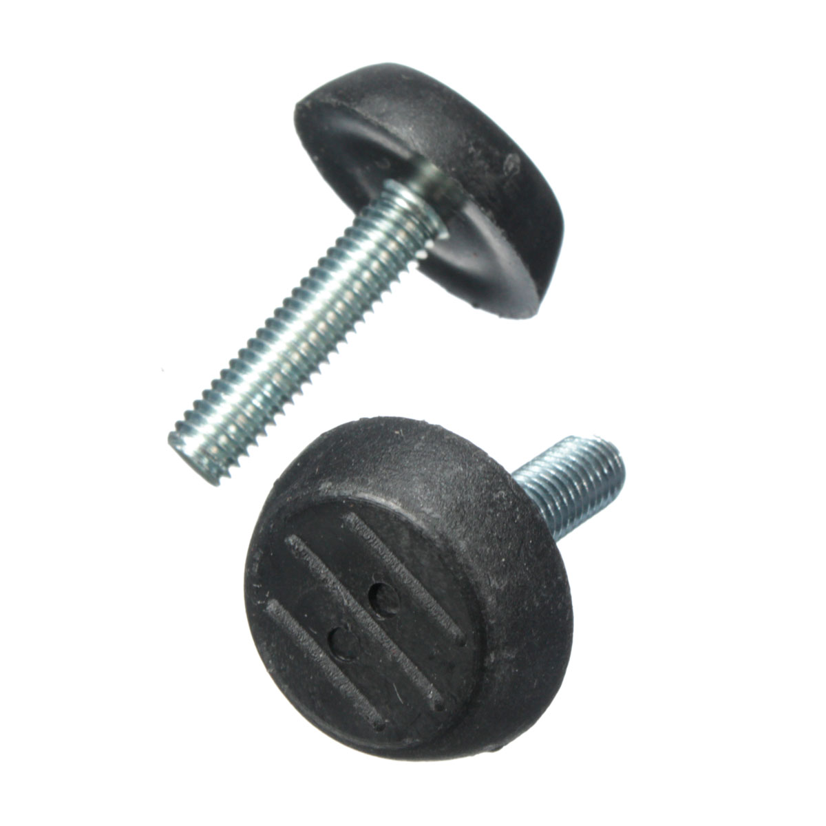20x m6 adjustable screw threaded glide feet leveling foot home chair table 25mm black intl - Threaded furniture feet ...