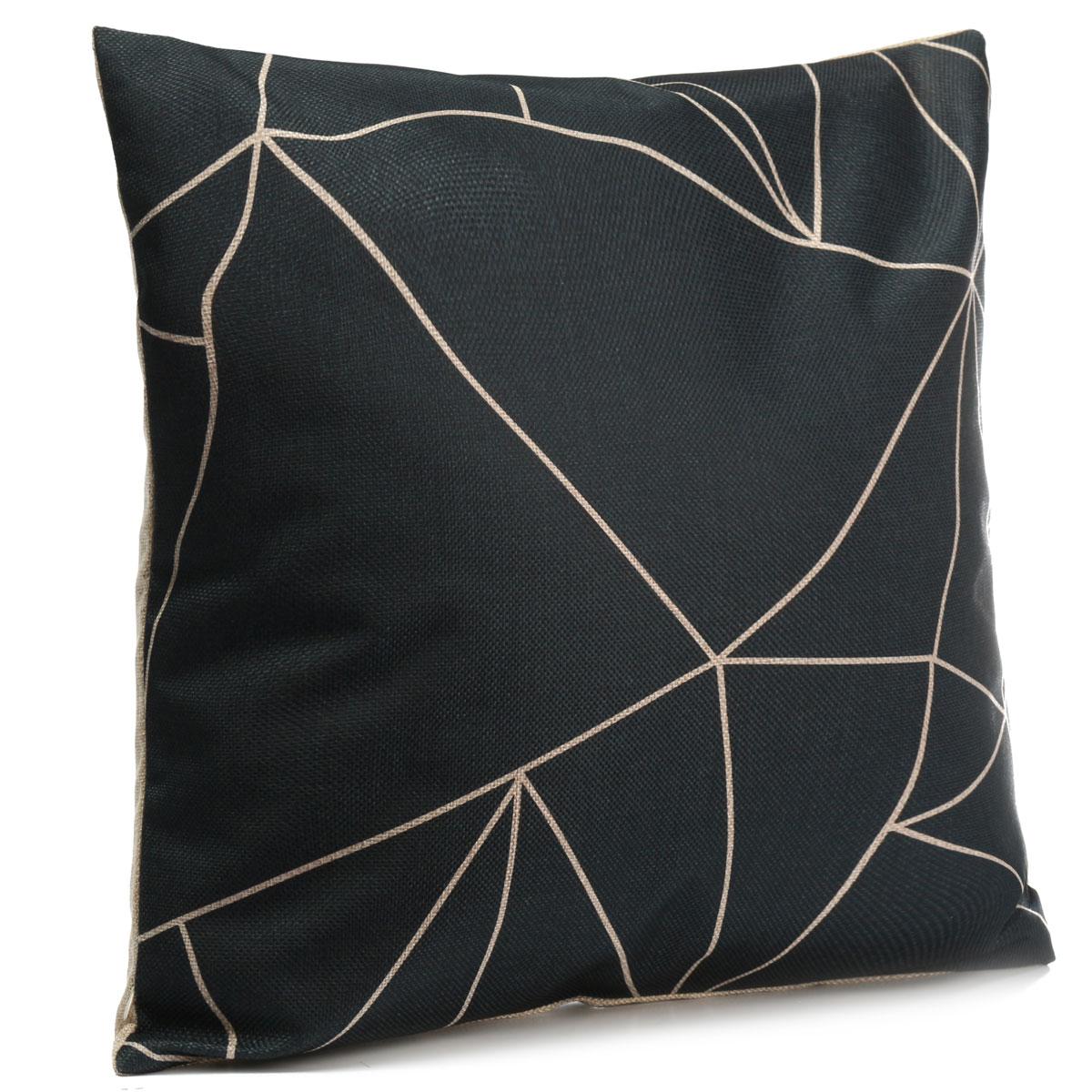 How To Wash Throw Pillow Cases : Vintage Black & White Cotton Linen Throw Cushion Cover Pillow Case Home Decor Lazada Malaysia