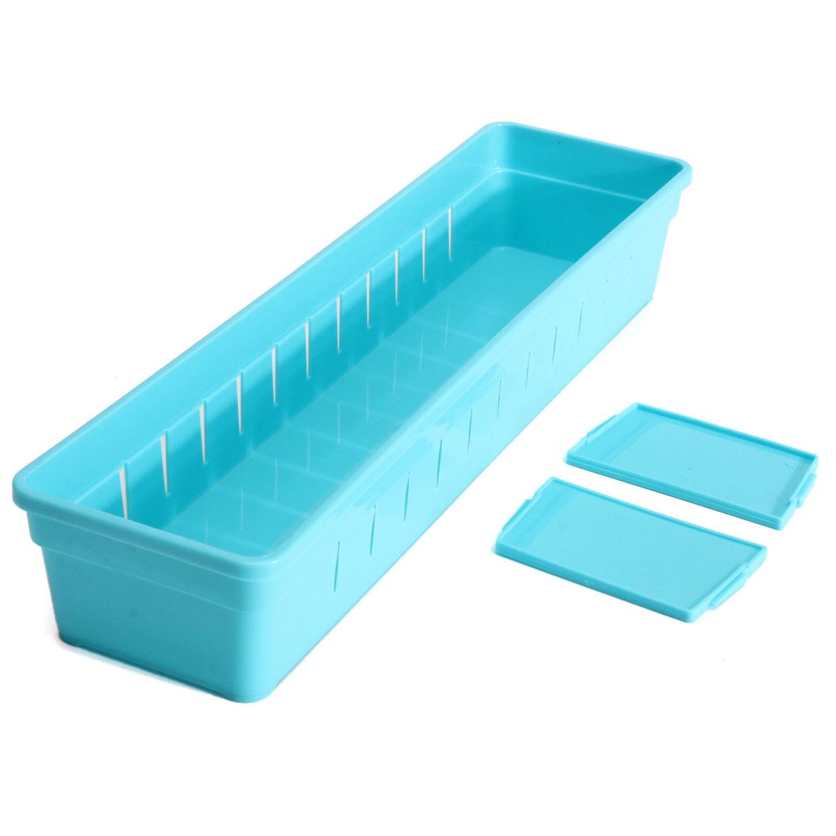 Cabinet drawer cutlery organizer storage box flatware for Utensil organizer for small drawers