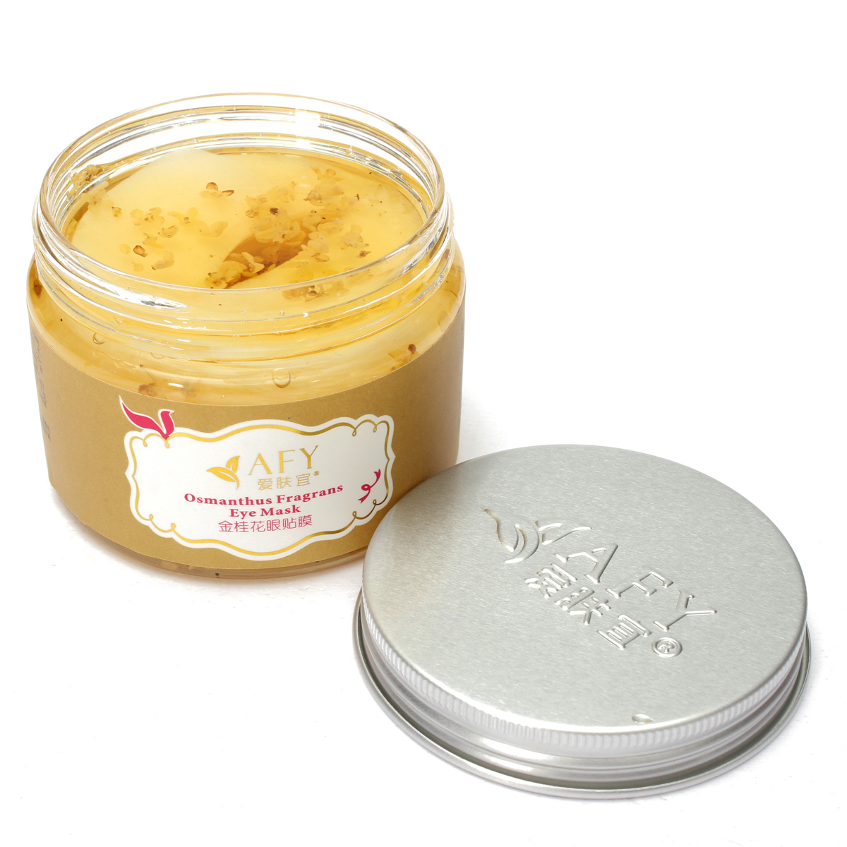 AFY Osmanthus Fragrans Remove Dark Circle Soothing Stress Moisturizing Eye Patches Mask