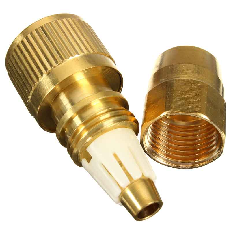 Pcs brass magic garden hose connector expandable