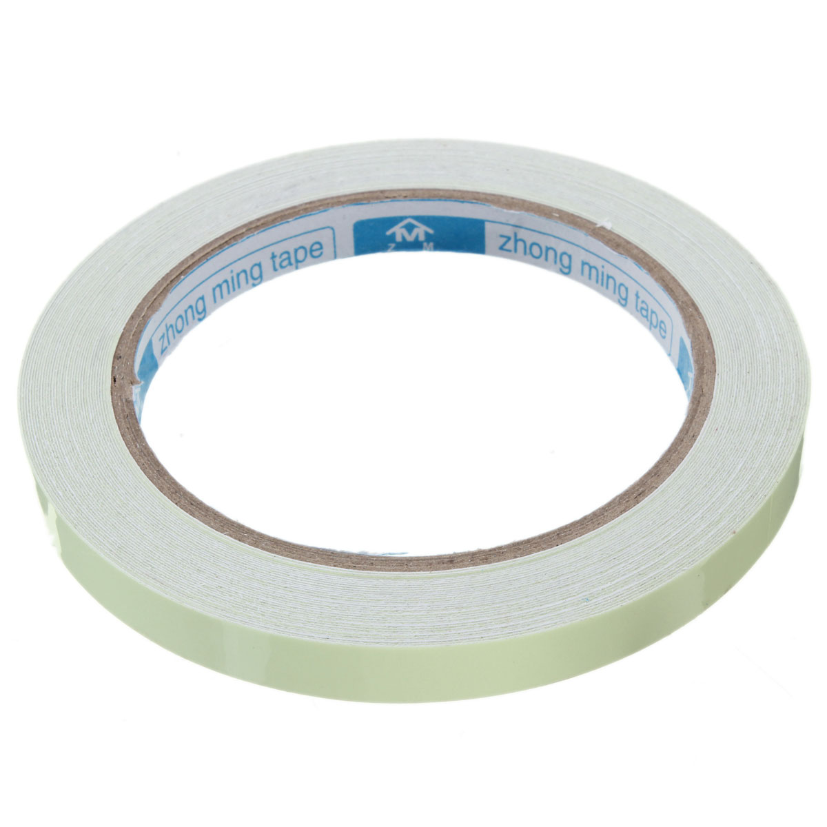 Self adhesive luminous tape strip glow in the dark green for Adhesive decoration