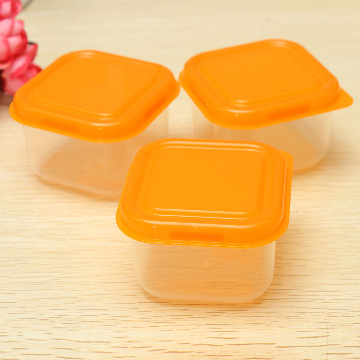 10pcs Reusable Plastic Food Sweet Storage Containers