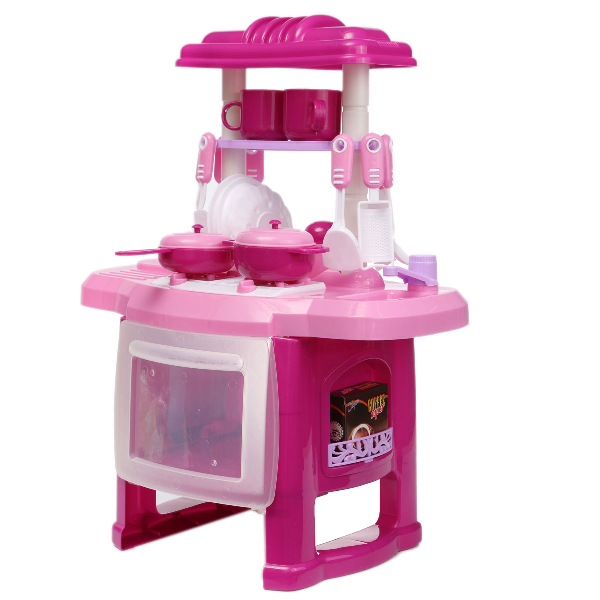 Kitchen Set Lazada: Electronic Child Kids Kitchen Cooking Role Pretend Play