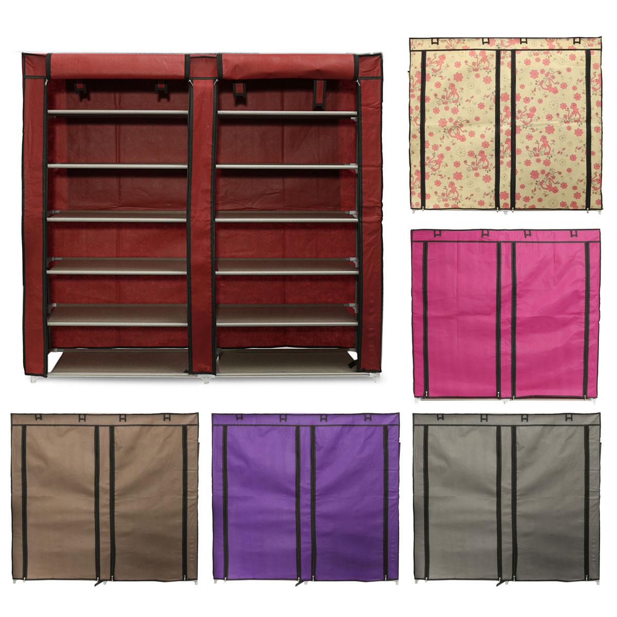tempsa armoire chaussures etag re en toile stockage rangement fleur achat vente meuble. Black Bedroom Furniture Sets. Home Design Ideas