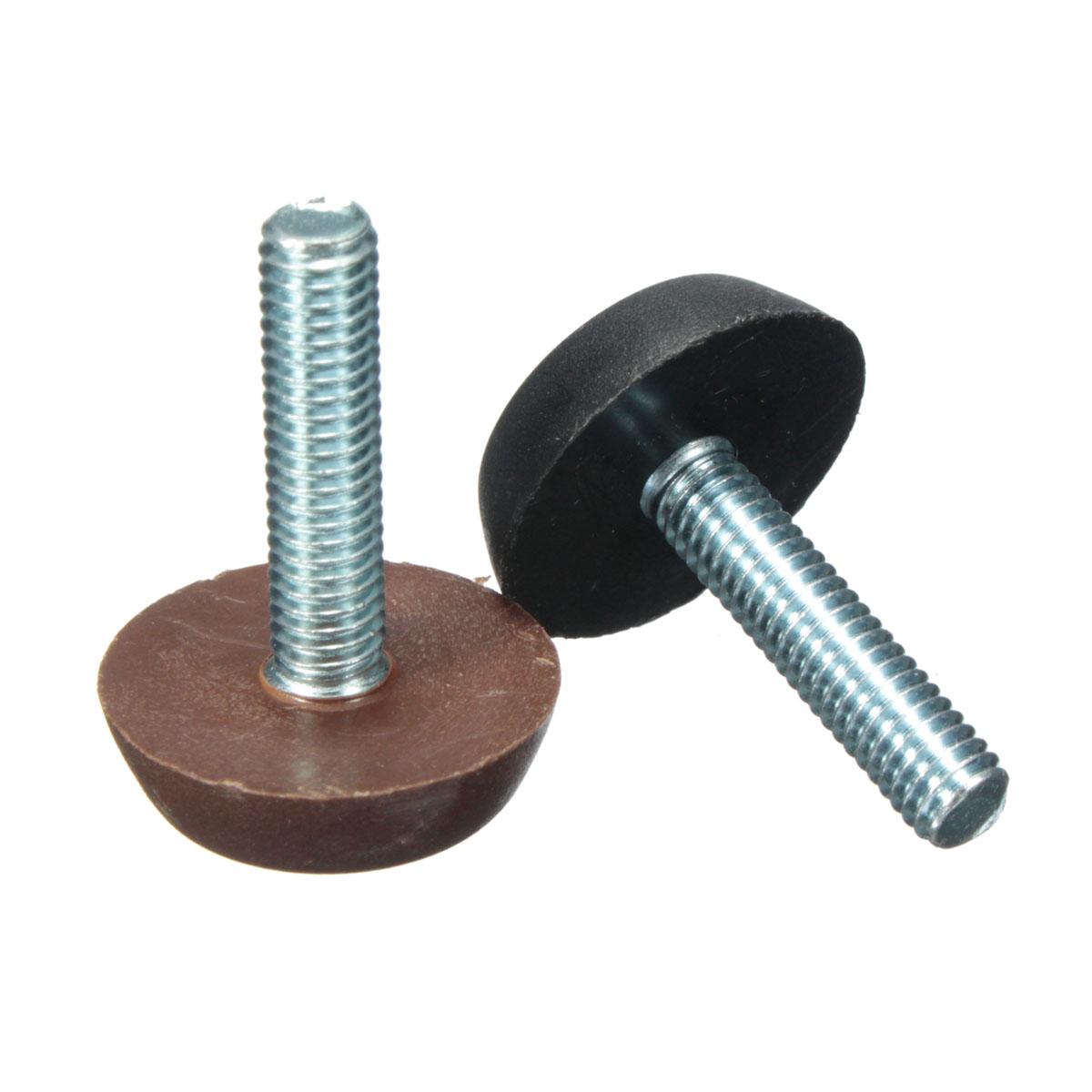 M adjustable screw threaded glide feet leveling foot