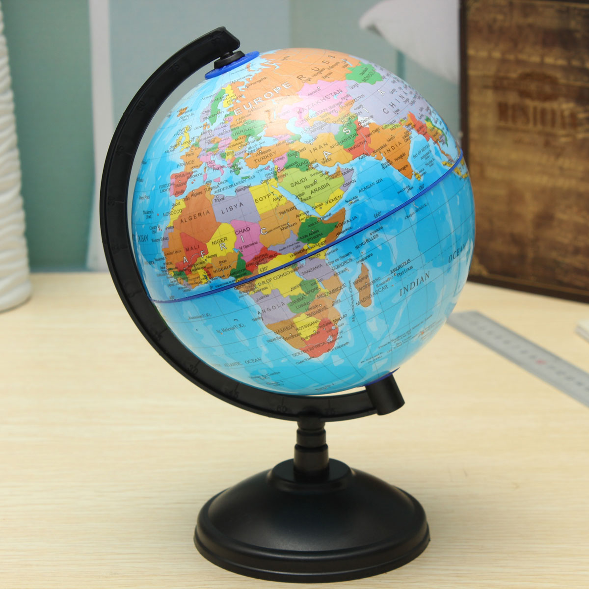 14cm world globe country region district map w swivel stand geography education intl lazada ph. Black Bedroom Furniture Sets. Home Design Ideas