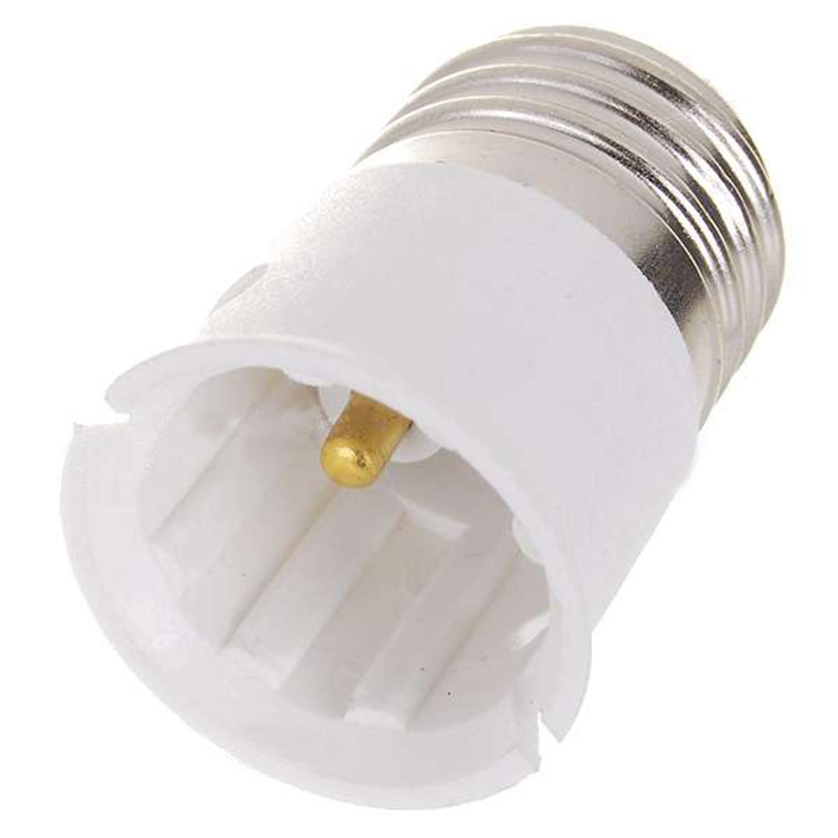 Adaptateur Douille Culot B22 A E27 Douille Vis Titullaire Lampe