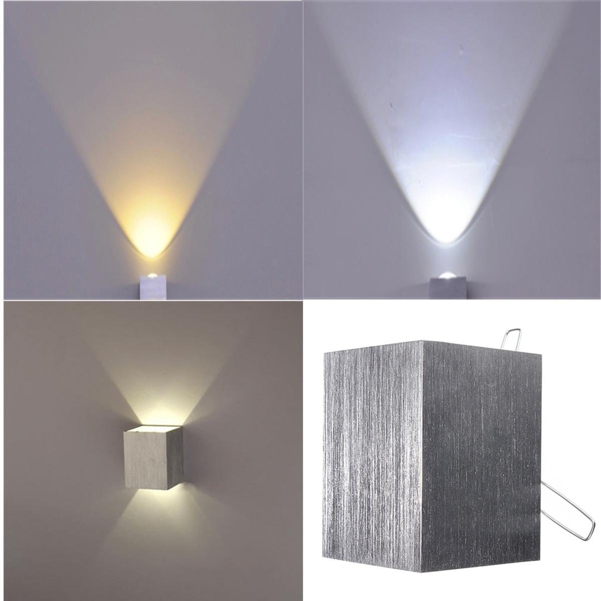 led lampe de mur 3w applique murale luminaire d coratif d 39 int rieur salle maison blanc chaud. Black Bedroom Furniture Sets. Home Design Ideas