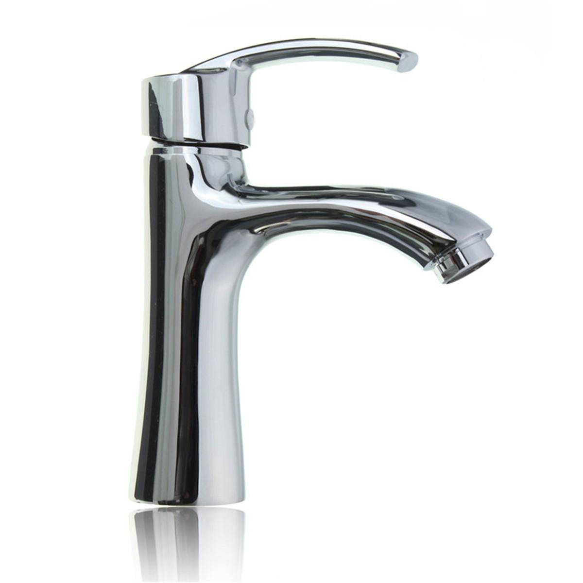 New Single Hole Single Handle Bath Room Bathroom Faucet Hot Cold Faucet Intl Lazada Singapore