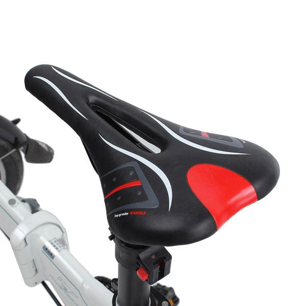 Outdoor Bicycle Bike Cycling V Shape Sponge Seat Saddle Hollow Saddle