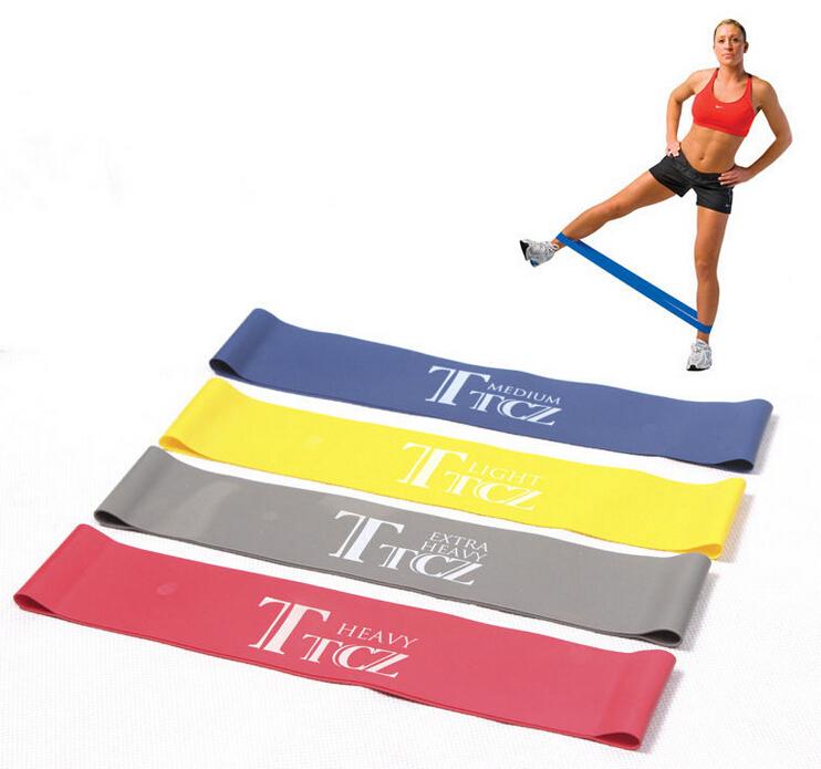 Favori Bande Résistance Elastique Musculation Exercice Fitness Jaune  XT82
