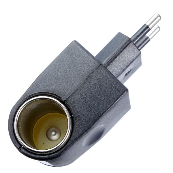 110v 220v ac to 12v dc car cigarette lighter socket charger adapter eu plug new lazada malaysia. Black Bedroom Furniture Sets. Home Design Ideas