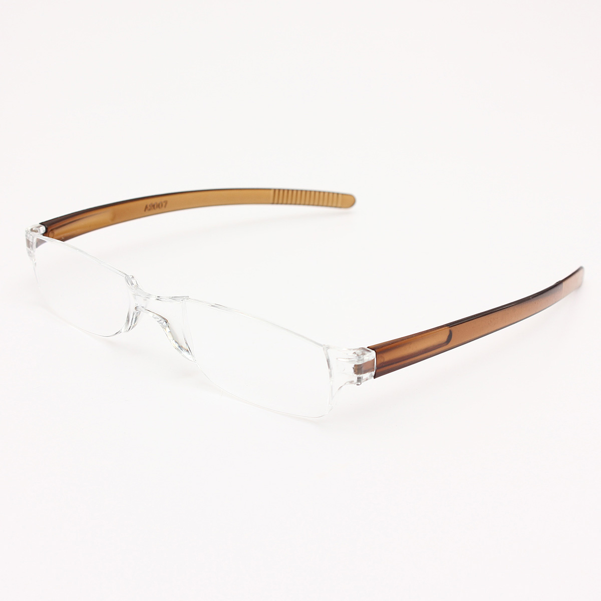 Rimless Glasses Malaysia : Brown Rimless Reading glasses +3.0 Lazada Malaysia