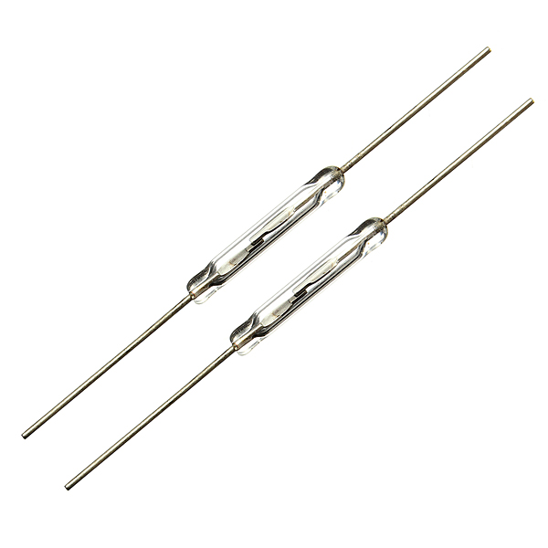10pcs 10w magnetic glass reed switches normally open
