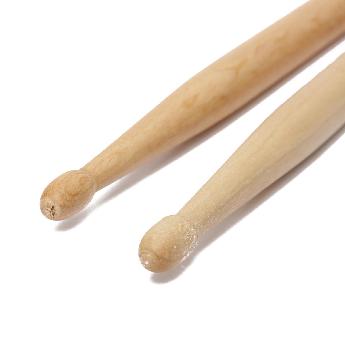 2 pcs one pair practical maple wood 7a drum sticks drumsticks music band accessories lazada. Black Bedroom Furniture Sets. Home Design Ideas