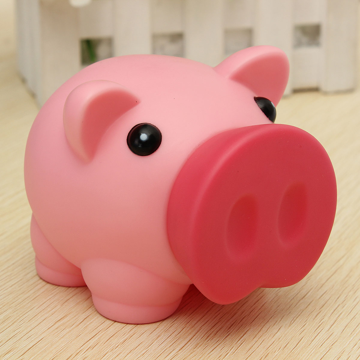 BreakageProof Cute Plastic Animal Piggy Bank Saving Cash ...