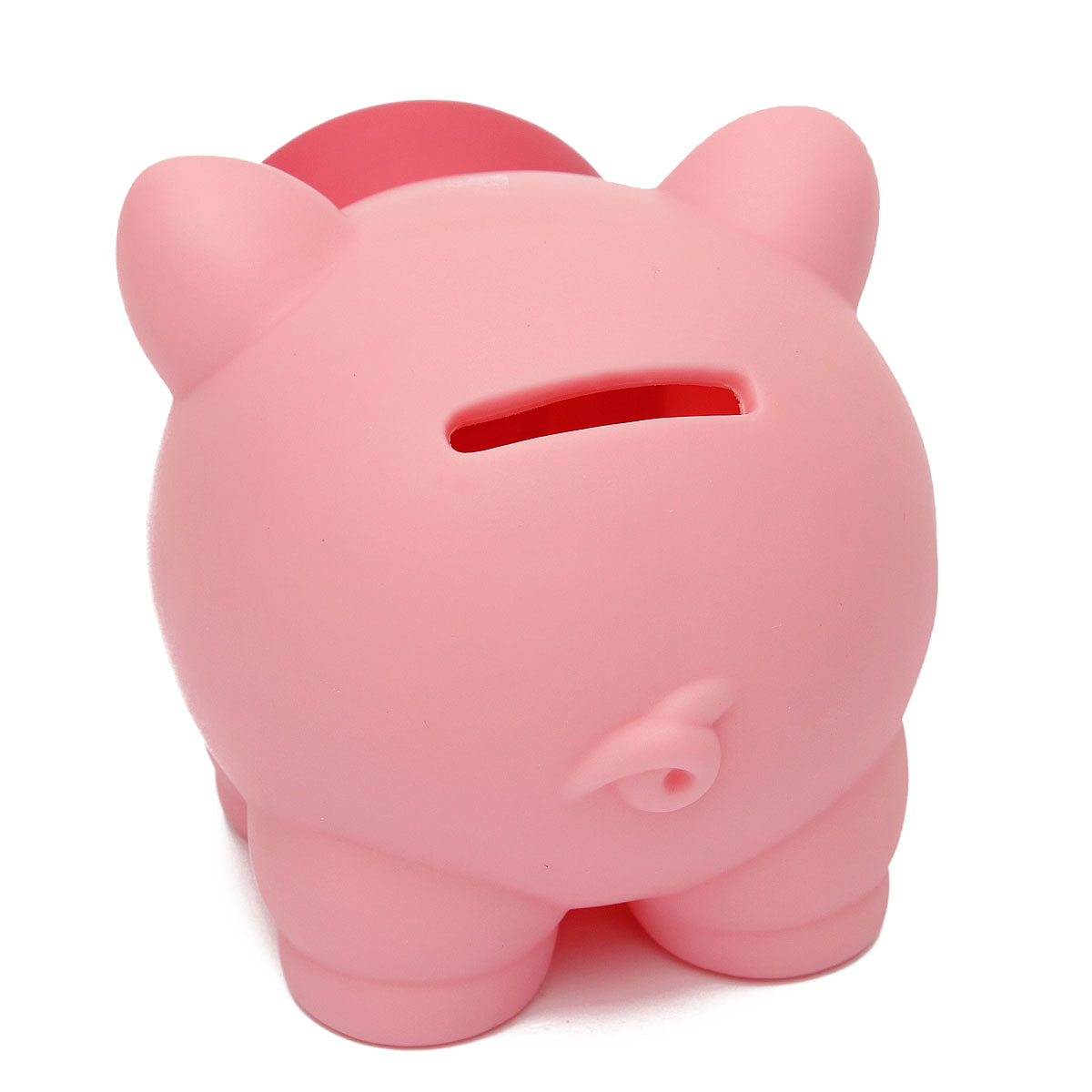 Breakageproof cute plastic animal piggy bank saving cash for Piggy bank for toddlers